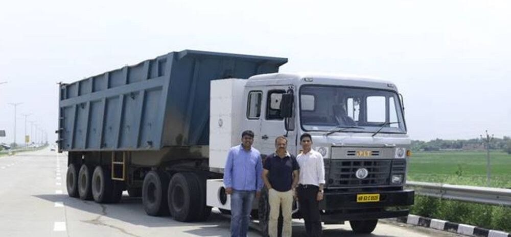 India's 1st All-Electric 60-tonne Truck: 100% Make In India