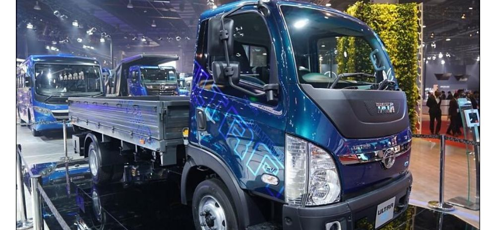 Tata Launches India's 1st Electric Truck: Tata Ultra T7 Can Run 100 Kms In Single Charge!