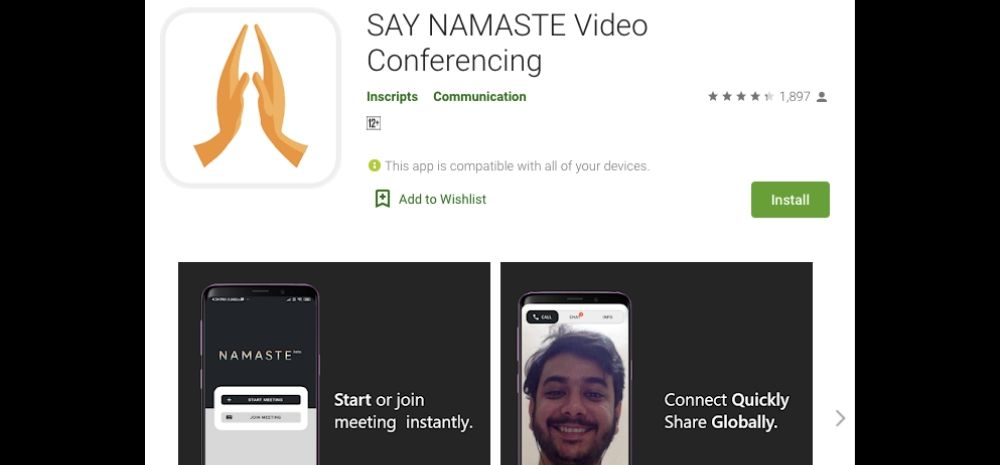Make In India App: Say Namaste Aims To Dethrone Zoom In India; Now Available On Google Playstore