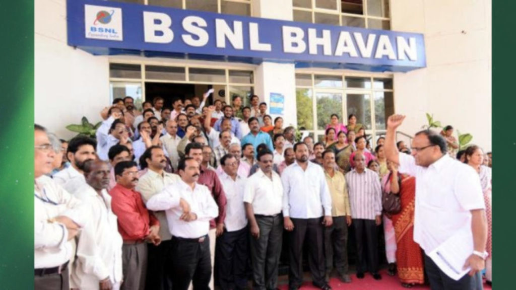 70,000 BSNL Employees On Strike - They Ask Why Govt Is Not Allowing 4G Roll Out Across India