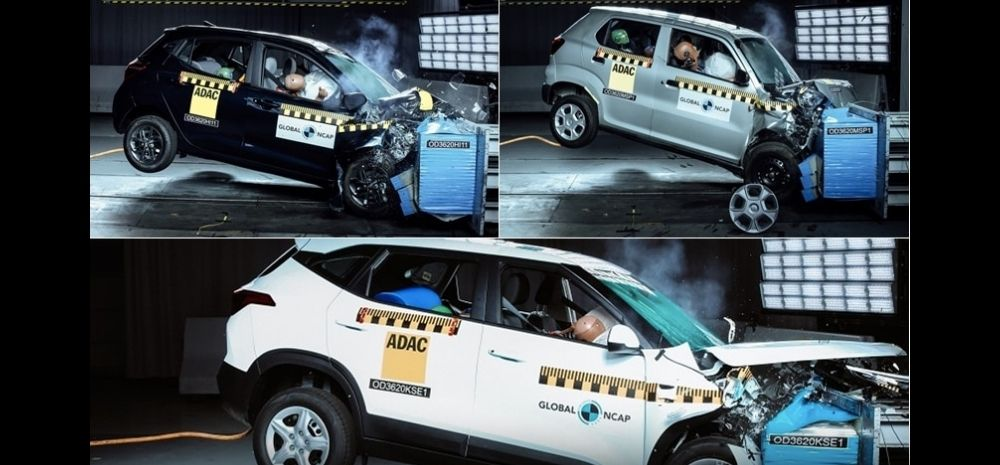Embarrassment For Maruti As S-Presso Get Zero Star Crash Rating; Kia Seltos Beats Hyundai In Safety