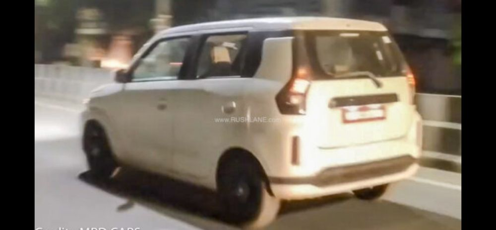 A new video on MRD Cars shows the new WagonR without any camouflage.