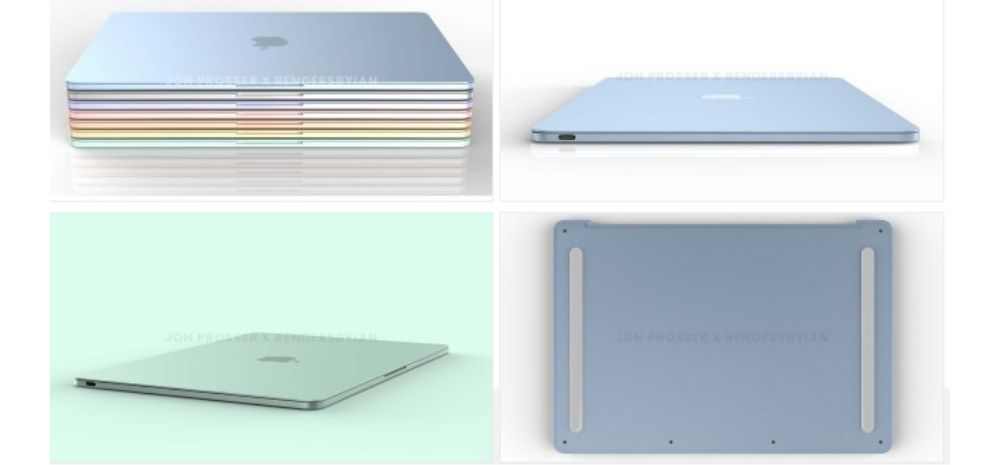 This Is How Upcoming Apple MacBook Series Will Look Like: Flat Design, Vibrant Colours & More!