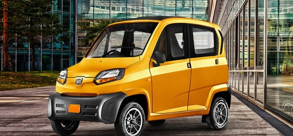 Bajaj Joins Forces With Uber To Manufacture Qute, India's 1st Quadricycle