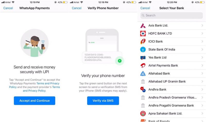 Whatsapp introduced a new feature for its Payments platform on Tuesday, called the Payments Backgrounds.