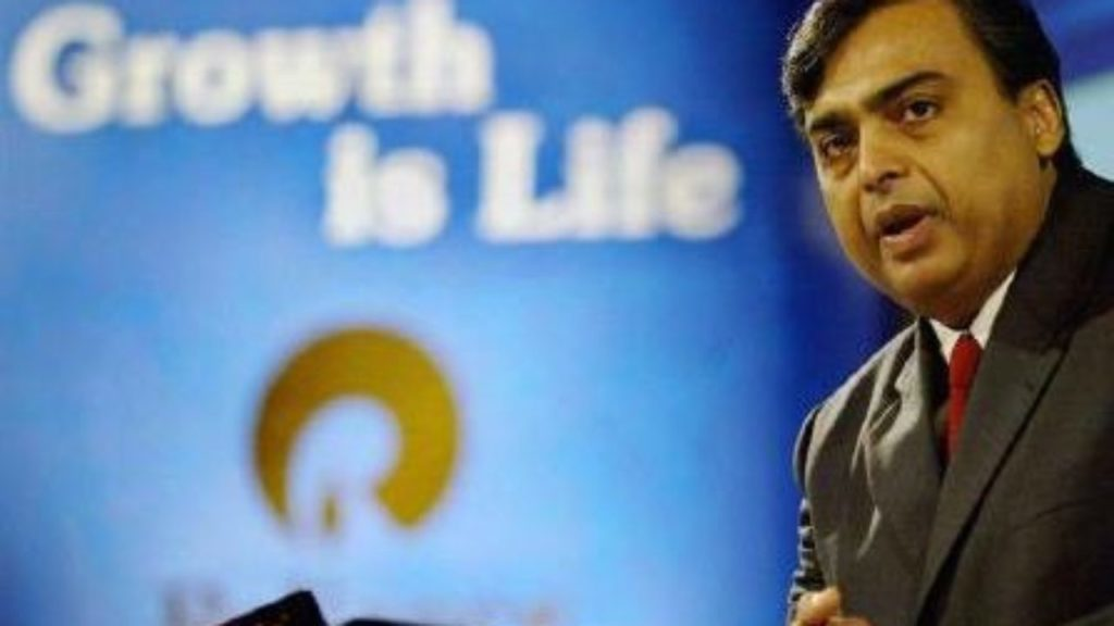 Mukesh Ambani's RIL is seeking to make a non-binding offer worth €5 billion or $5.9 billion for acquisition of a controlling stake in T-Mobile Netherlands.