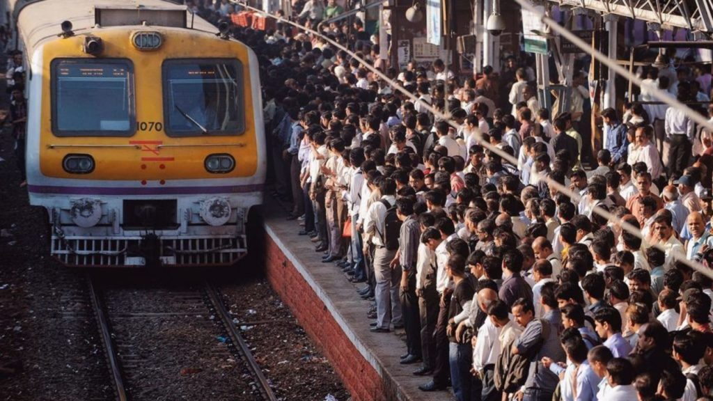 The number of daily local train passengers in Mumbai suburb has spiked up to 38-40 lakhs, which is the highest record this year.